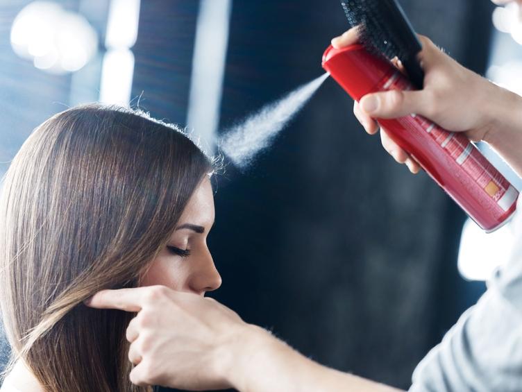saç spreyi hamilelik
