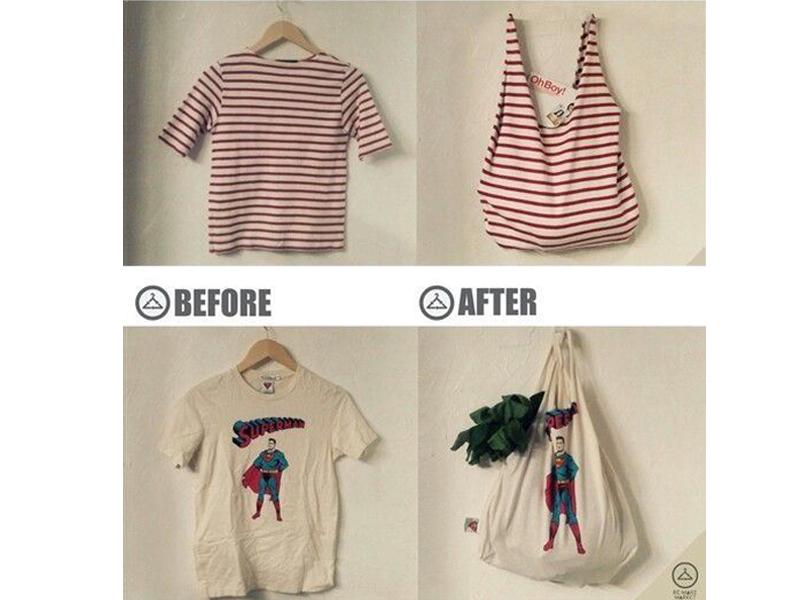 iyi21- tişörtten çanta yapımı